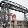 Los vecinos volveran a cruzar el Riachuelo en el Puente Transbordador de La Boca