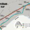 Comenzaron a construir las estaciones del Metrobús del Sur y las Obras del Metrobus de la 9 de Julio