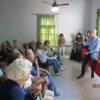 Horacio Rodríguez Larreta en la Comuna 11 Y Nuevamente la Prensa Barrial NO fue Invitada
