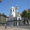 Calle Bolívar, doble mano frente al Cabildo