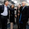 Mauricio Macri corta cintas en la ciudad de Buenos Aires