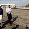 Macri recorrió las obras del Distribuidor Dellepiane