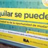 """La Ciudad te da la Oportunidad de Mudarte, lanzaron  el programa """"Alquilar se puede"""""""