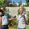 DRON en Versalles: Cayó en el patio de un vecino