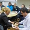 El Ministro Triaca y la Legisladora Calciano impulsan el proyecto Huertas Sustentables