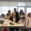 """Horacio Rodríguez Larreta inauguró el edificio de la EscuelaSiglo XXI: """"Tiene que ser el modelo para la Ciudad"""""""