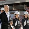 El presidente del COI recorrió las obras de la Villa Olímpica