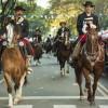 La Feria de Mataderos festejó el Día de la Bandera