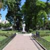 La Ciudad inauguró las obras de puesta en valor de Plaza Vélez Sarsfield