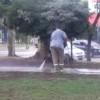Comuna 10: Tétrico !!! ¡Lavan las Veredas de las Plazas los Días de Lluvia !!!!!