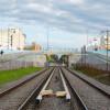 Inauguran puente provisorio sobre el Tren Sarmiento