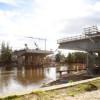 El Puente Lacarra en su etapa final