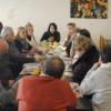 El Presidente de la Comuna 11 agasajó con un desayunó a Periodistas
