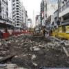 Siguen las Obras para convertir en Peatonal a  la Av. Corrientes