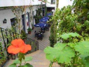 recorrido casco historico Galeria del Viejo Hotel Patio