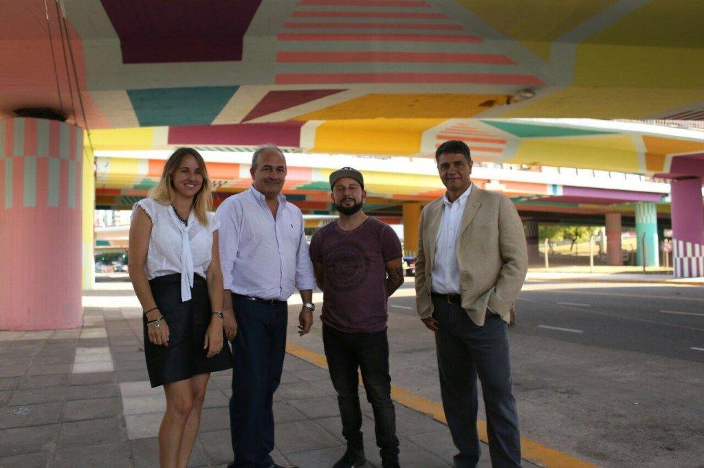 Color Y Arte En El Puente De Av Del Libertador Y Gral Paz Revista